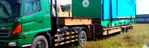 Inland Transport container 40′ PT. S&S – Ngoro