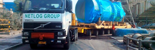 Port to Door Transportation 1 unit of Pre-Heater to PT Smelting Gresik