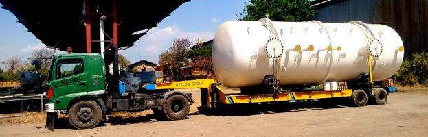 Inland Transportation Diesel Fuel Tank & Drain Tank from BBI Pasuruan to Yogyakarta International Airport Kulon Progo