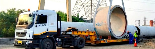 Inland Transportation Jawa 9-10 Project from PT Bonna Bogor to PLTU Suralaya
